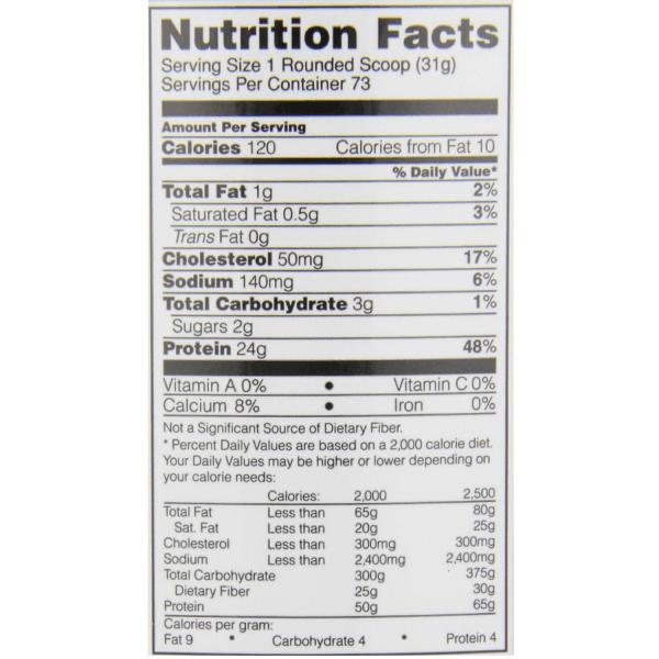 אבקת חלבון אופטימום משובחת - 24 גרם חלבון למנה