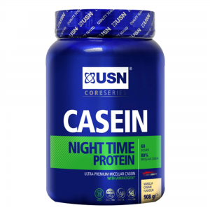 אבקת חלבון קזאין USN בספיגה איטית לבניית שריר יעילה במיוחד