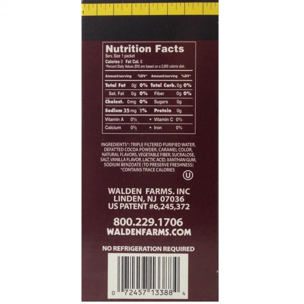 סירופ שוקולד/תות דל קלוריות וללא סוכר ושומן