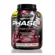 MuscleTech Phase 8 - אבקת חלבון ייחודית עם 6 סוגי חלבון