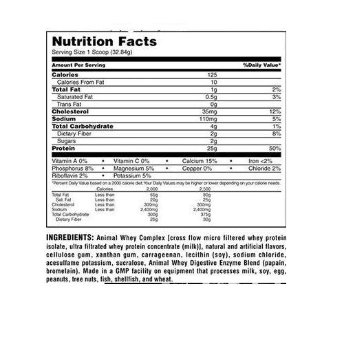 25 גרם של תשלובת חלבונים על בסיס מי גבינה - חלבון הנספג בגוף במהירות וביעילות