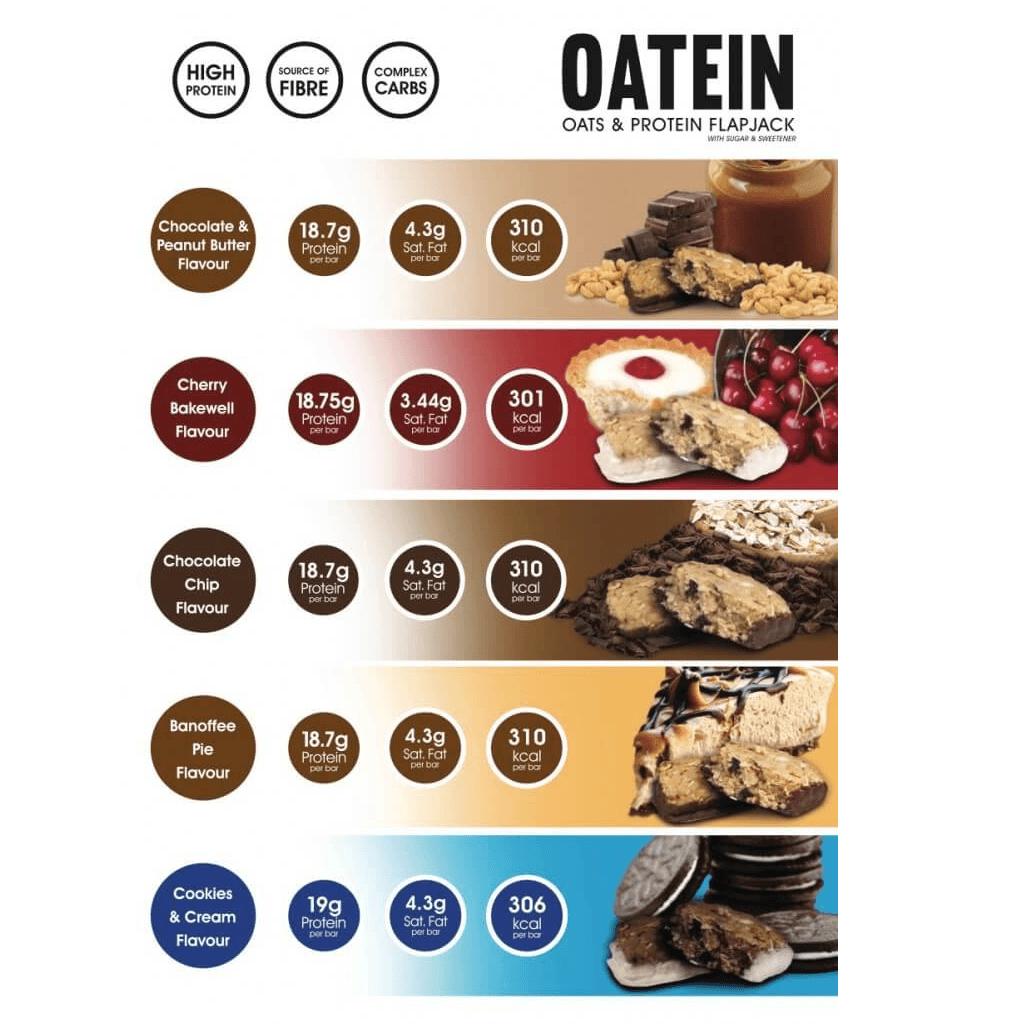 חטיפי חלבון טבעיים של חברת אוטין