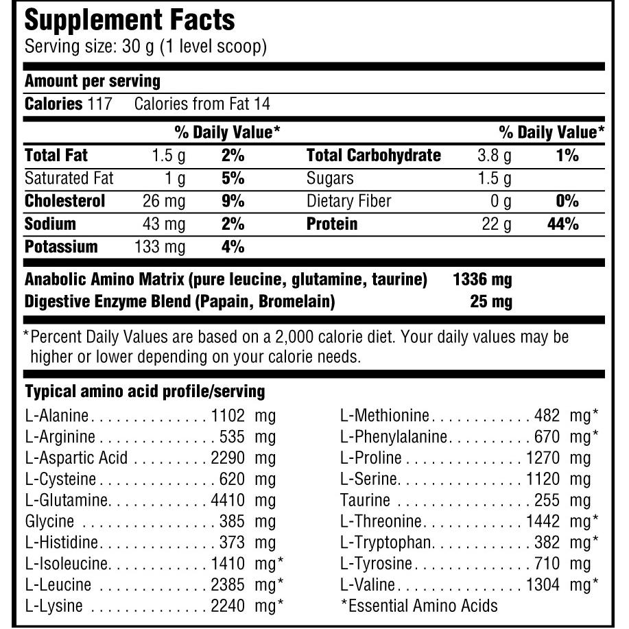 אבקת חלבון מבית סייטק - 22 גרם חלבון במנה