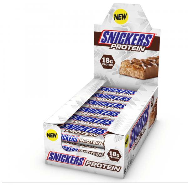 חטיפי חלבון סניקרס - 18 גרם חלבון לחטיף - מגוון טעמים!