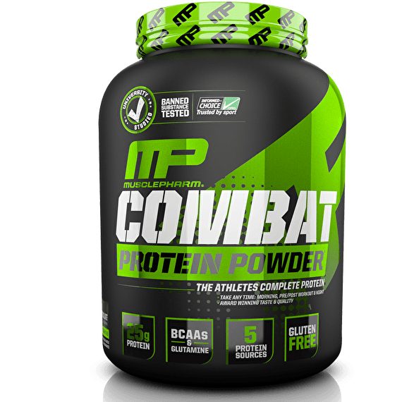 Two Muscle Pharm Combat Sport Blend