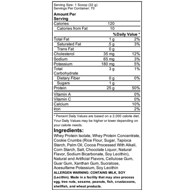 25 גרם חלבון למנה - MusclePharm
