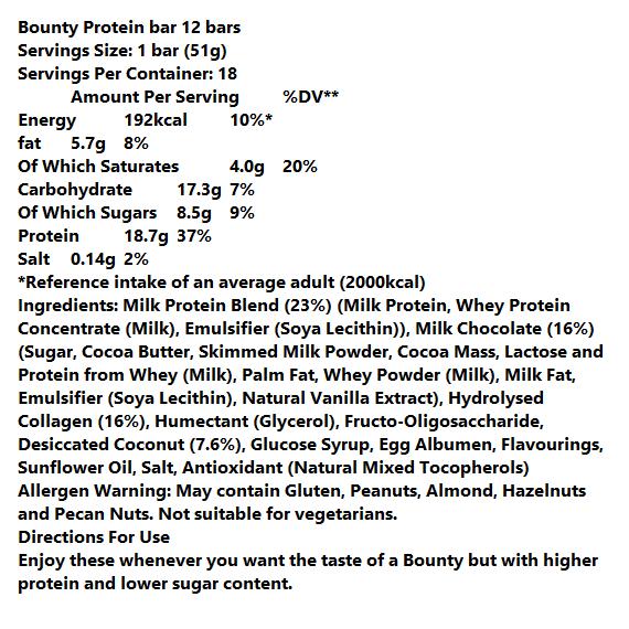 חטיפי חלבון באונטי - 18.7 ג' חלבון