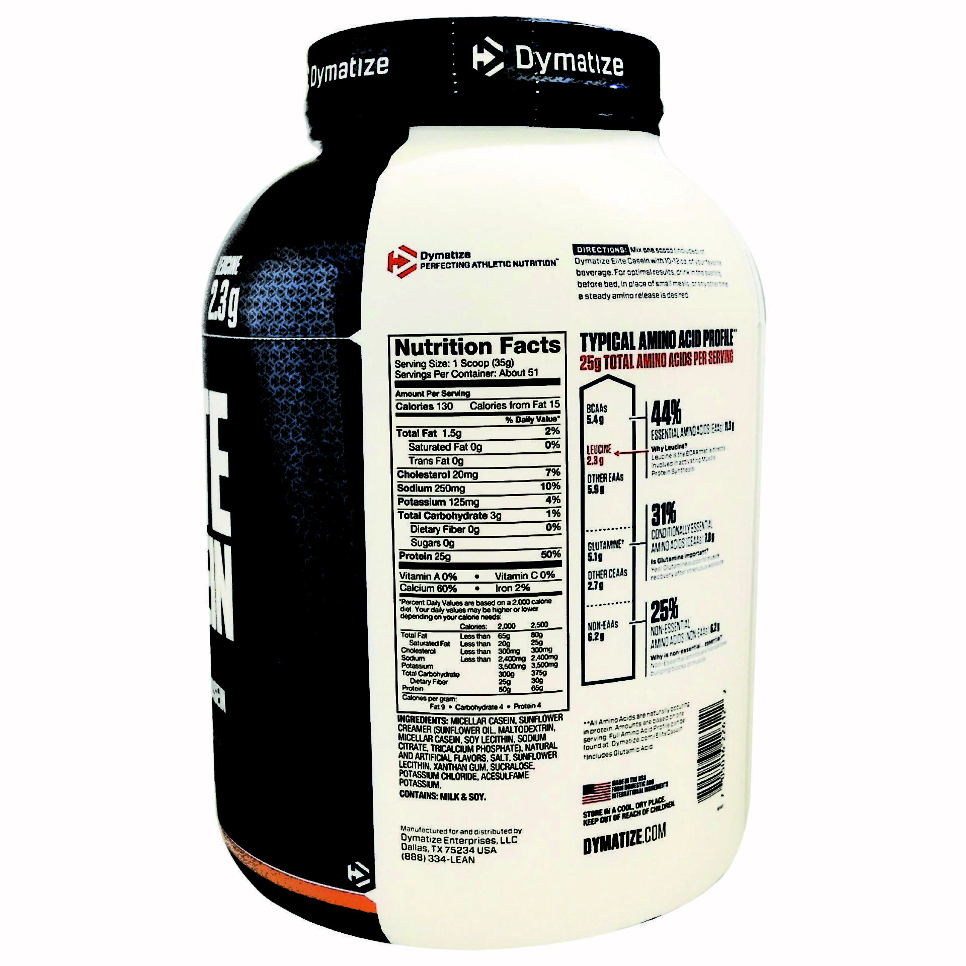 אבקת חלבון קזאין Dymatize