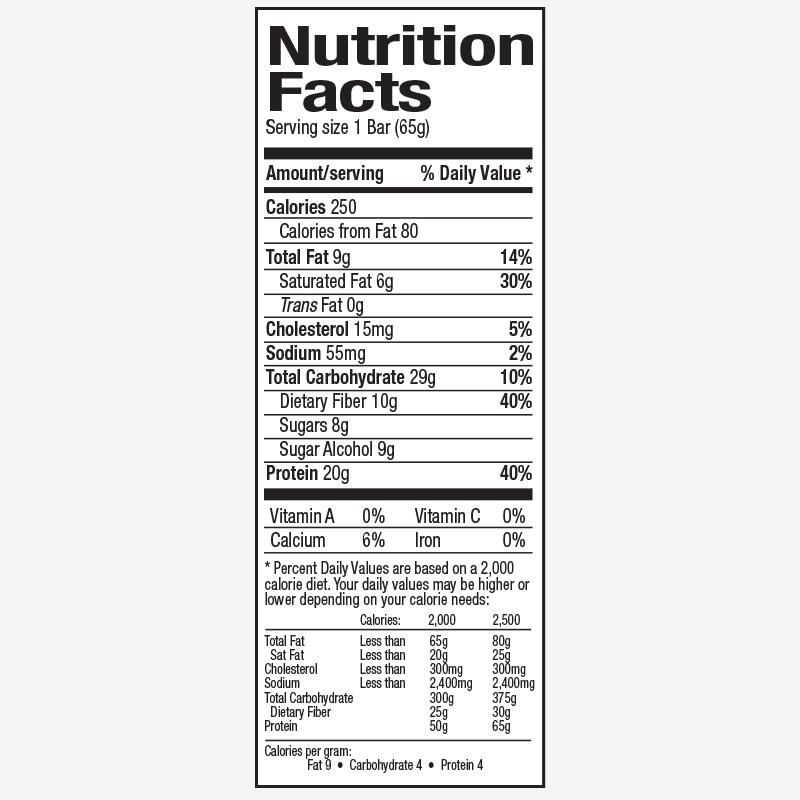 חטיפי חלבון BPI 20 ג' חלבון