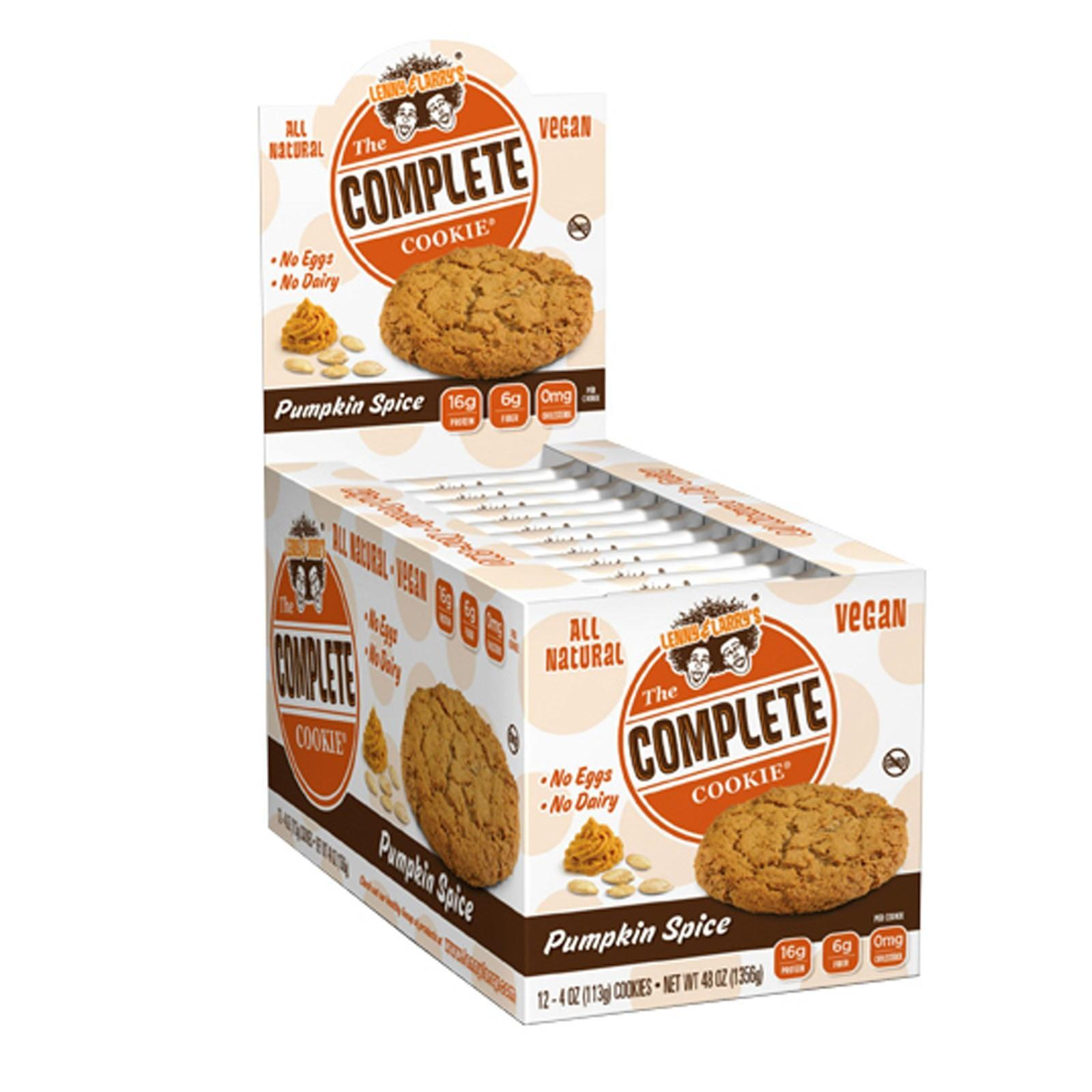 עוגיות חלבון טבעוניות Lenny & Larrys