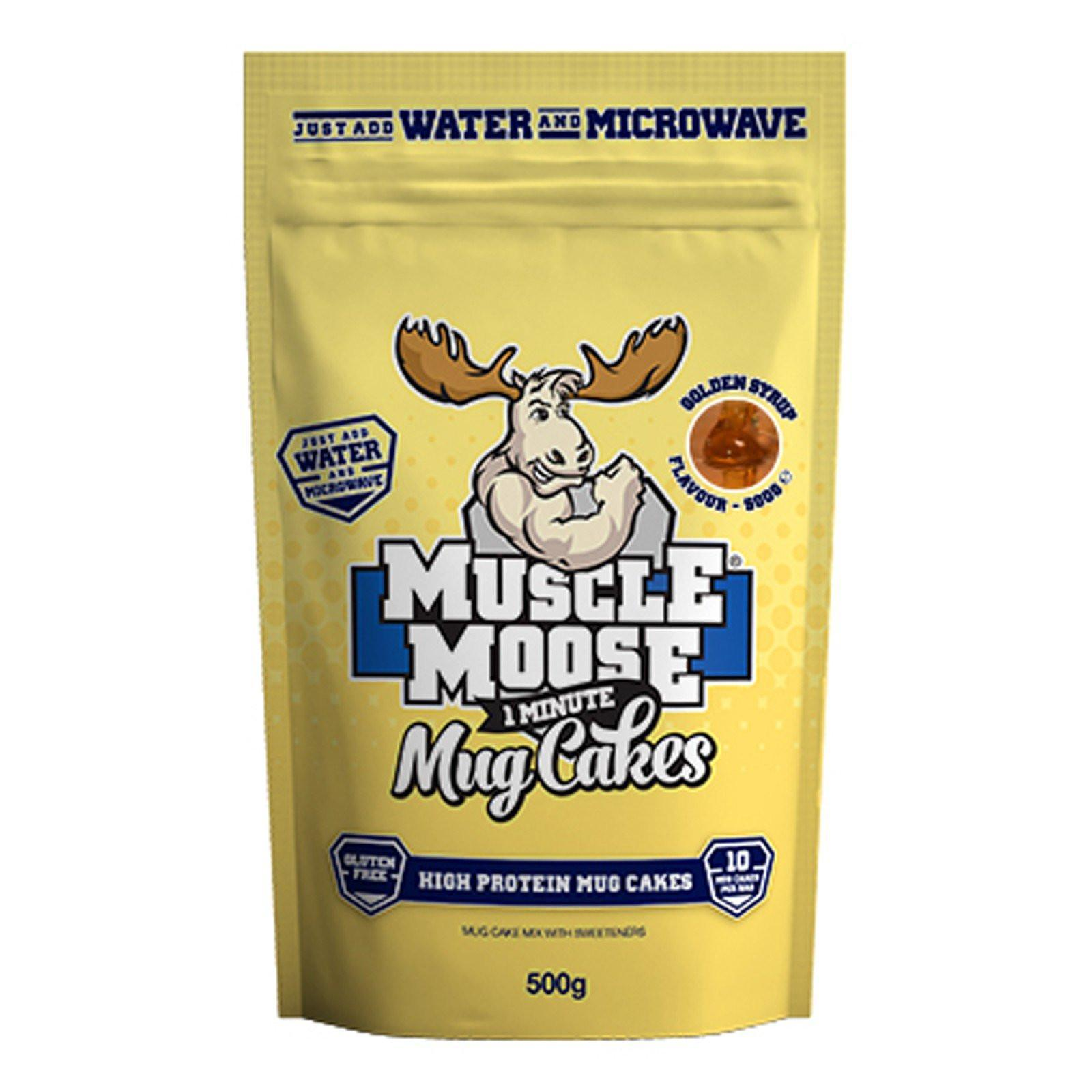 Muscle Mousse 1 Minute Mug Cakes, Golden Syrup