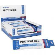 ג'ל חלבון מכיל 20 גרם חלבון התורם ומסייע לגדילה ותחזוק של מסת השריר