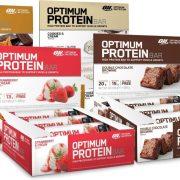 חטיפי חלבון זה רק אופטימום - 20 גרם חלבון לחטיף