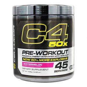 קדם אימון C4 50X - גלה את עוצמת האימון מחדש!