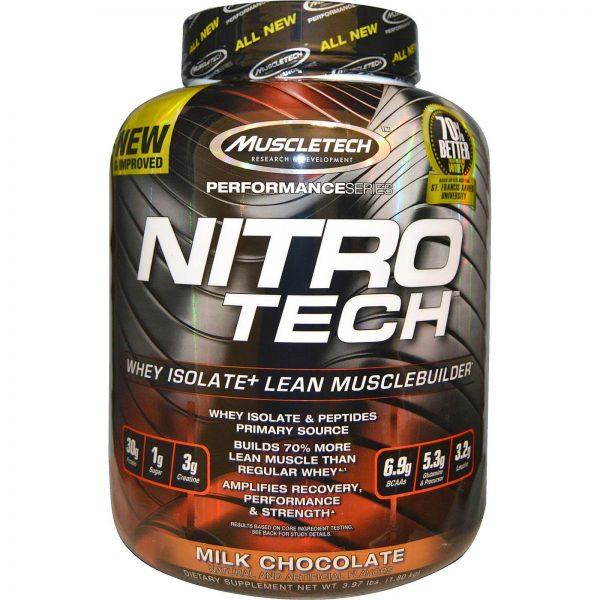 אבקת חלבון מועשרת בקריאטין וחומצות אמינו - NITRO-TECH
