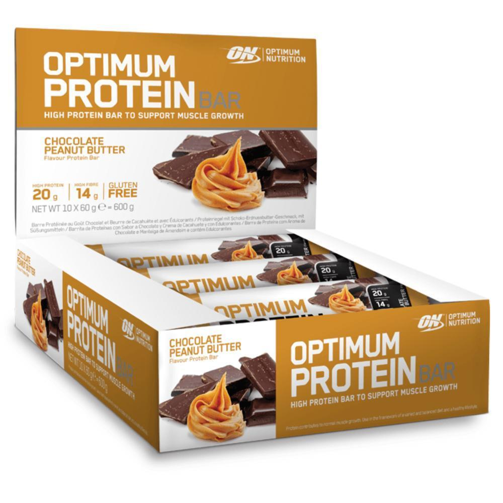 חטיפי חלבון איכותיים מבית אופטימום נוטרישין