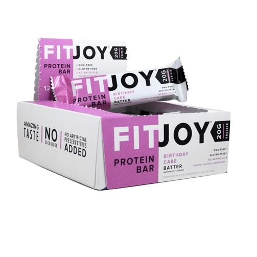FitJoy Protein Bar (12 Bars)