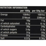 חטיף חלבון קראנצ', מצופה ב3 שכבות ועשיר בטעם , דל פחמימה עם רמת חלבון גבוהה.
