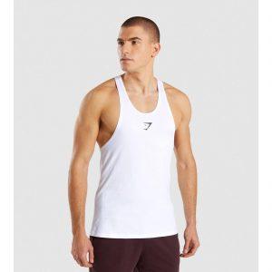 23e255761d4a90 Gym Shark Critical Stringer White