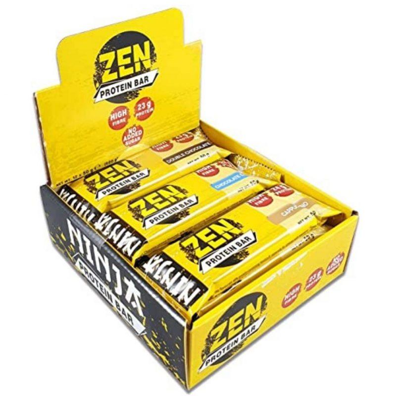 Ninja zen protein bars