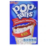 Kelloggs Pop Tarts Frosted Strawberry Sensation
