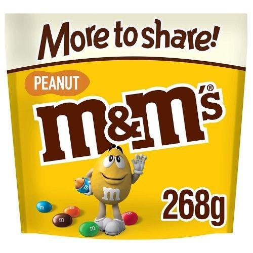 M&M's Peanut Chocolate, More to Share Pouch, 268g